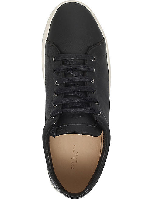 RAG AND BONE Kent leather trainers