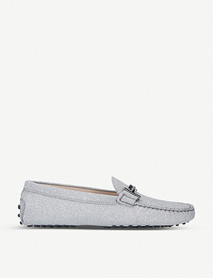 TODS Gommini Maxi Doppia leather loafers