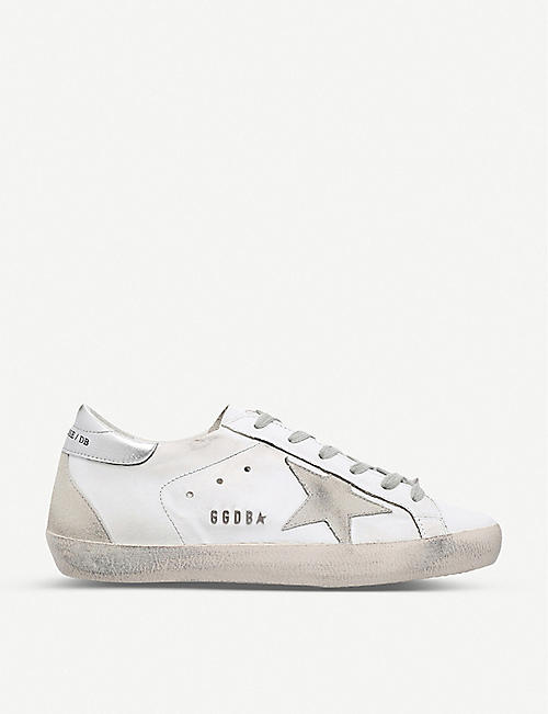GOLDEN GOOSE Superstar W77 leather trainers