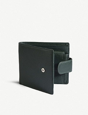 DENTS RFID protection leather wallet