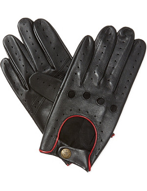 DENTS Leather driving gloves