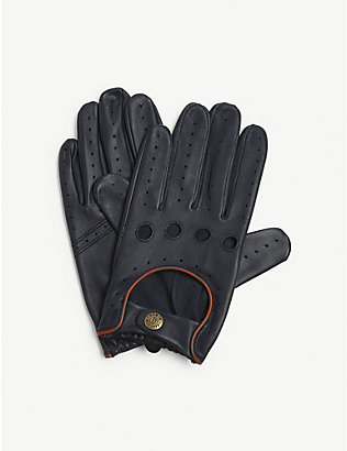 DENTS: Leather driving gloves