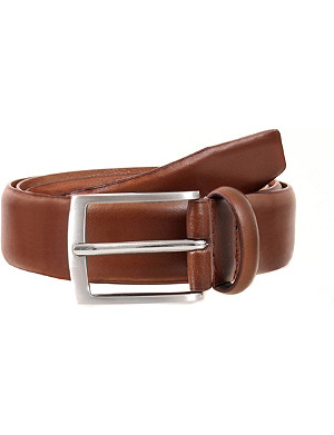 DENTS Plain leather belt