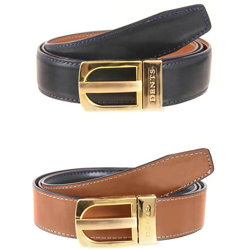 DENTS | Reversible Leather Belt | Goxip