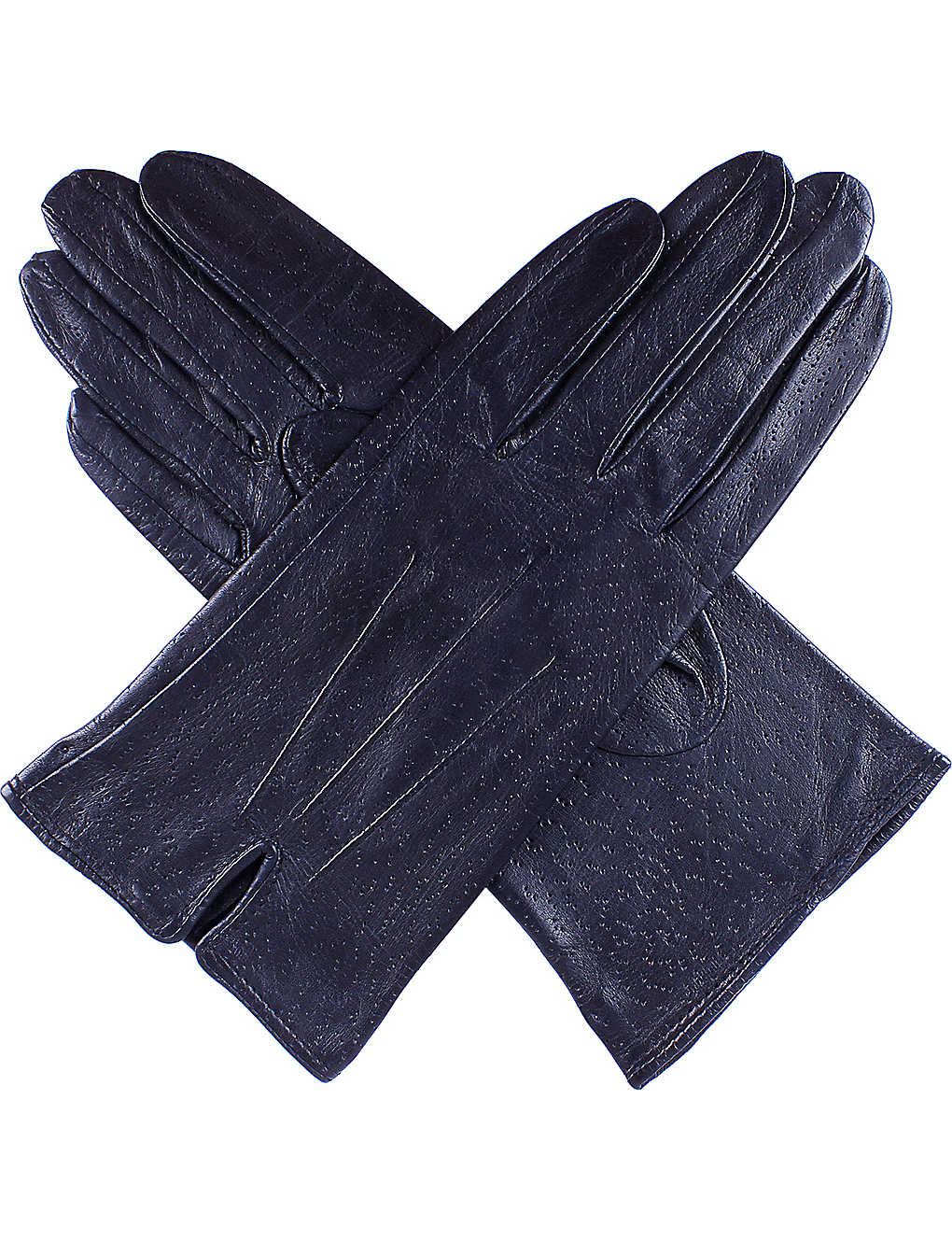 DENTS: Peccary-effect leather gloves
