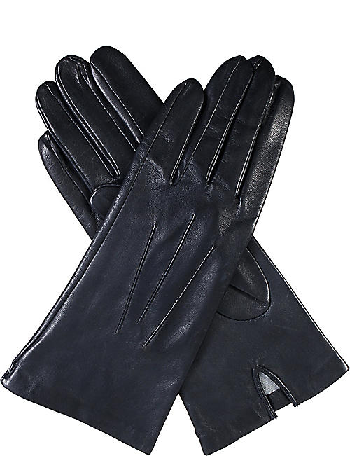 DENTS: Classic silk-lined leather gloves