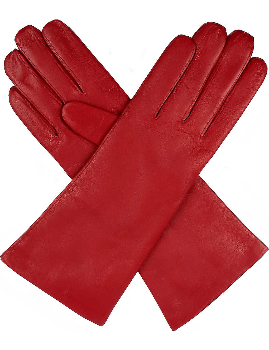 DENTS: Helene cashmere-lined leather gloves