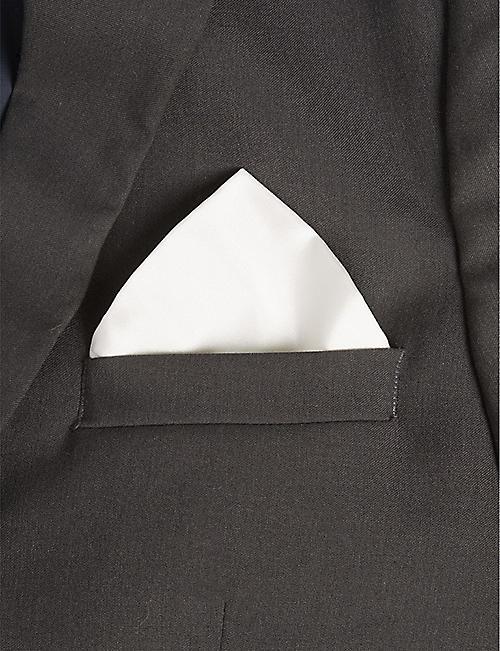 BOSS BLACK FORMAL Silk pocket square