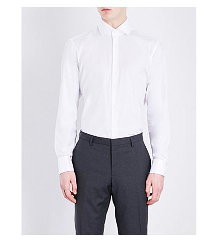 875937130f4 BOSS - Regular-fit pure cotton shirt