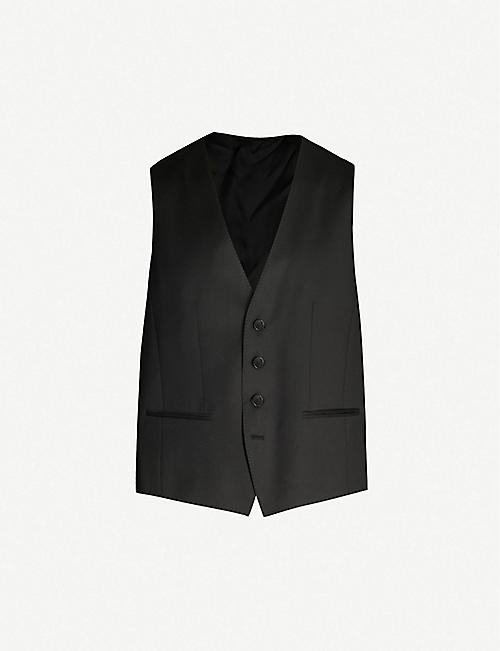 03213a08ea BOSS - Waistcoats - Suits & tailoring - Clothing - Mens - Selfridges ...