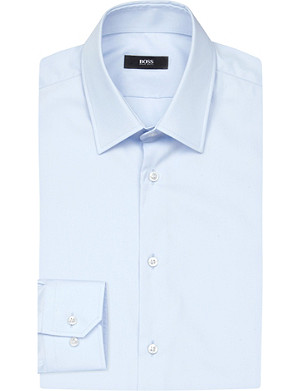 BOSS Regular-fit cotton shirt
