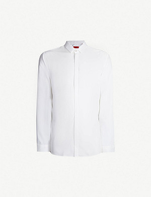 HUGO Extra slim-fit cotton shirt