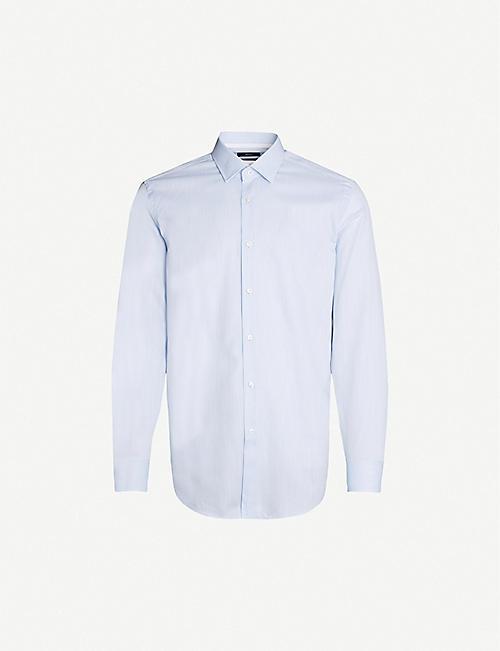 cf314670 BOSS - Shirts - Clothing - Mens - Selfridges | Shop Online