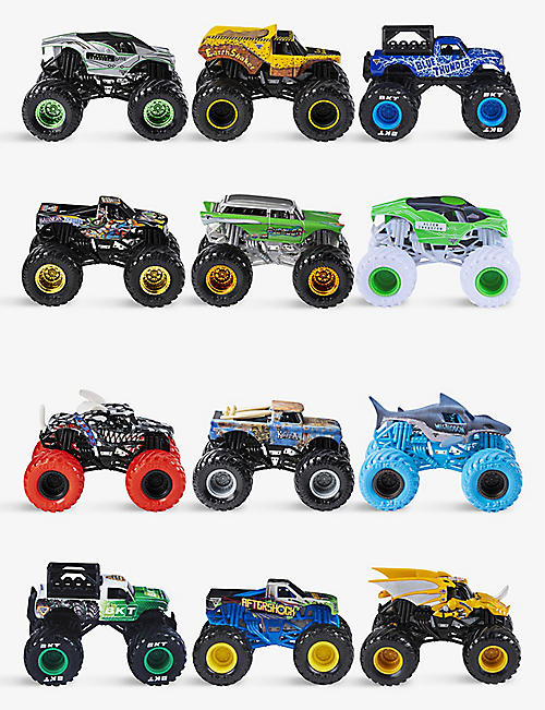 MONSTER JAM: Monster Trucks 1:64 scale assorted figure