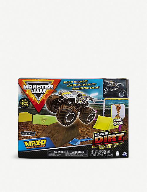 MONSTER JAM Monster Dirt Deluxe Set
