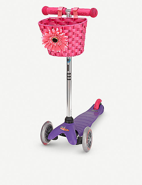 MICRO SCOOTER: Waterproof scooter basket