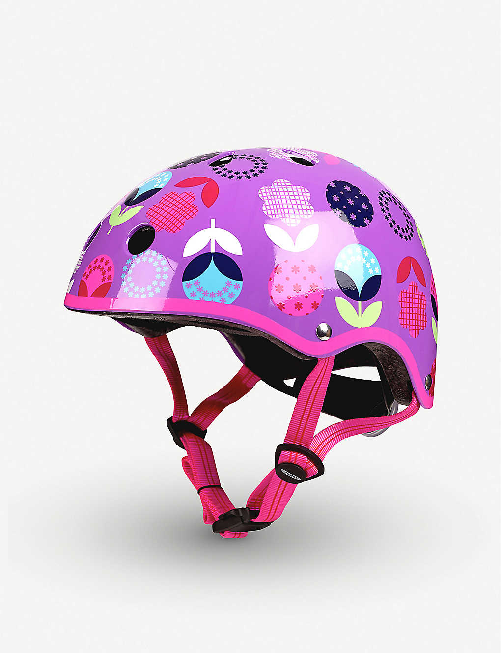 MICRO SCOOTER: Micro Deluxe Floral Dot small helmet