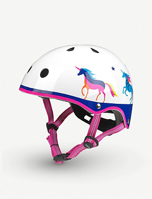 MICRO SCOOTER Micro Deluxe Unicorn medium helmet
