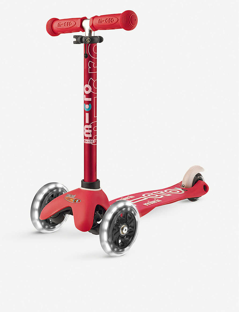 MICRO SCOOTER: Mini Deluxe LED scooter