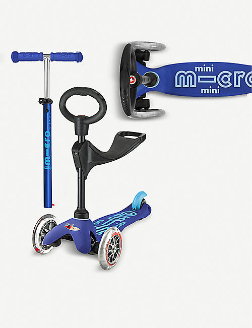 MICRO SCOOTER Mini Micro deluxe 3 in 1 Scooter