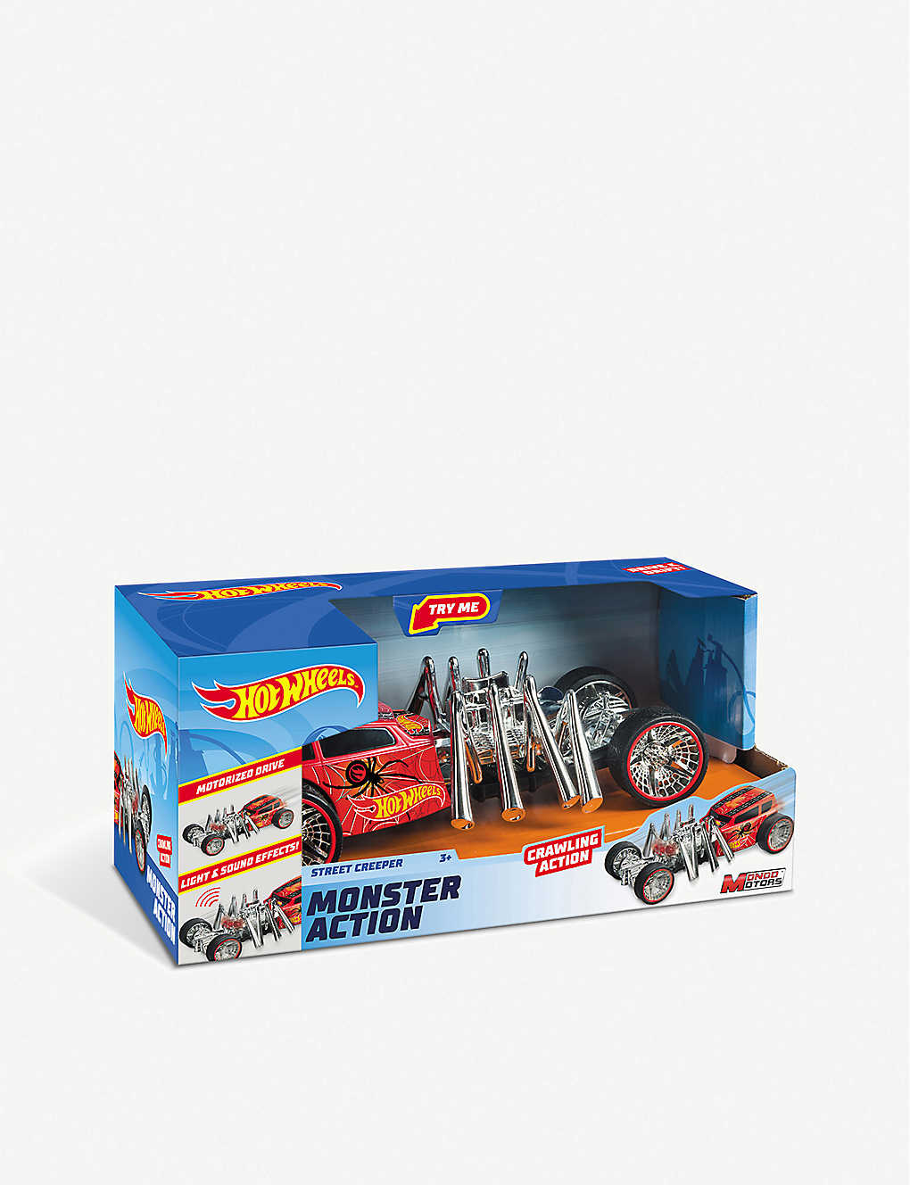HOTWHEELS: Monster Action Street Creeper car toy