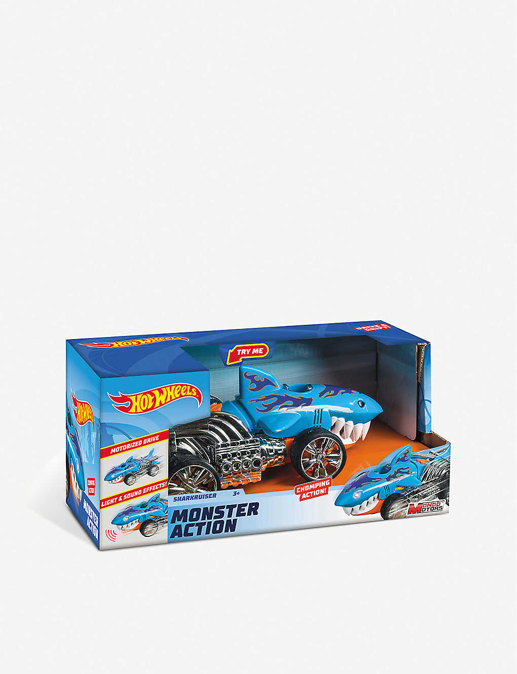 HOTWHEELS: Monster action shark cruiser