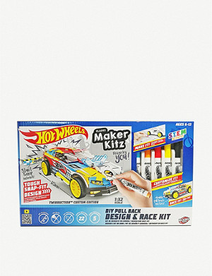 HOTWHEELS Maker Kitz DIY Design and Race Kit