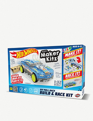 HOTWHEELS Maker Kitz Build and Race Kit