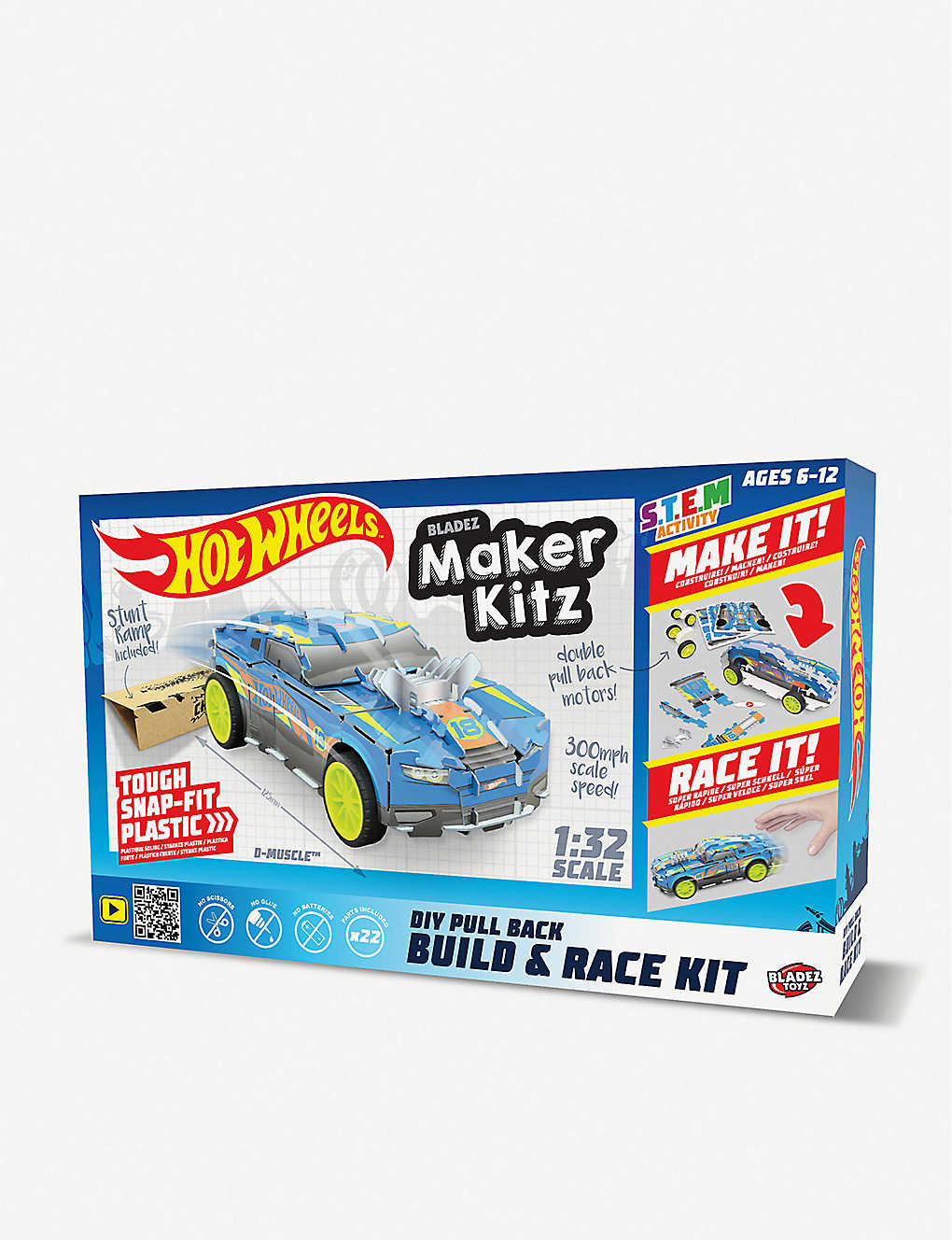 HOTWHEELS: Maker Kitz Build and Race Kit