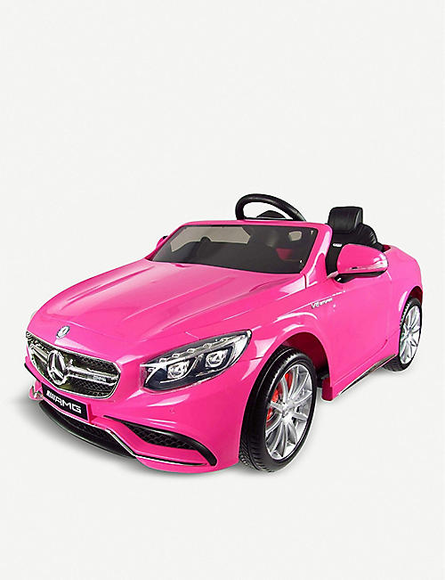 SMARTWAY Mercedes S63 AMG ride-on electric car