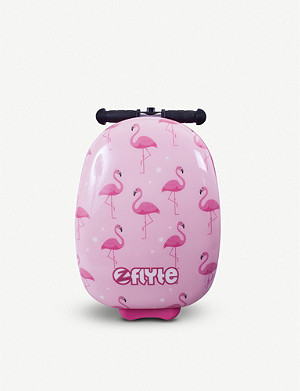 FLYTE Flamingo scooter suitcase
