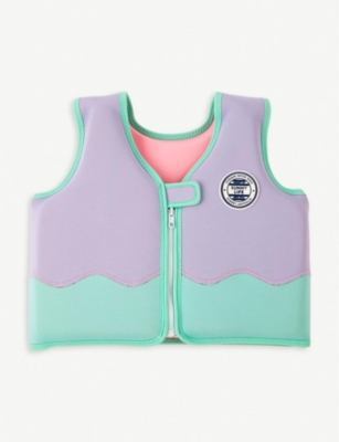 SUNNYLIFE Dolphin float vest 4–6 years
