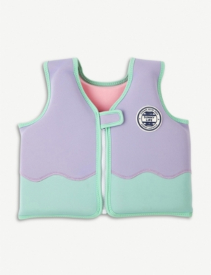 SUNNYLIFE Dolphin float vest 2-4 years