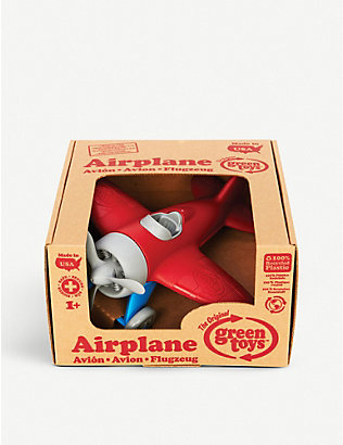 GREEN TOYS: Recycled-plastic aeroplane toy