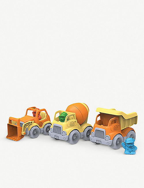 GREEN TOYS: Recycled-plastic scooper truck toy