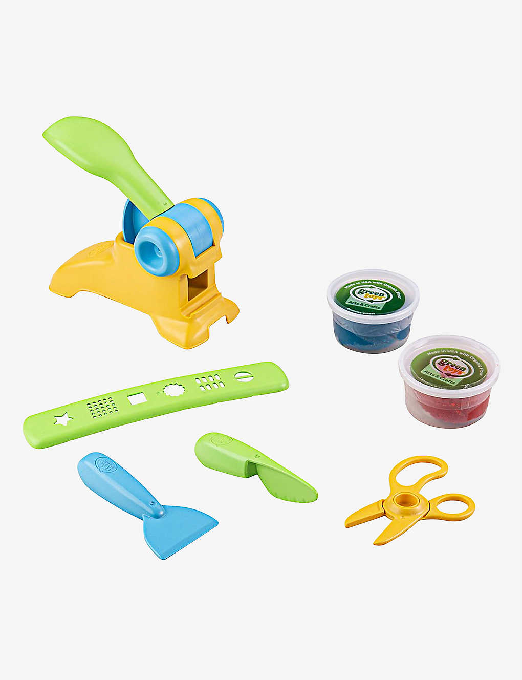 GREEN TOYS: Extruder Dough set