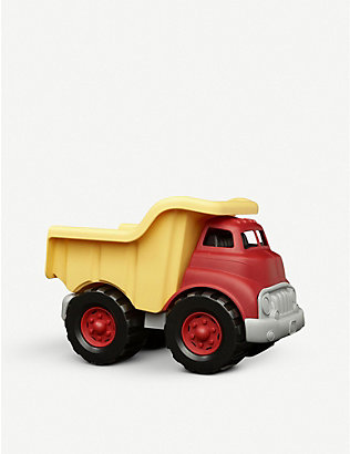 GREEN TOYS: Recycled-plastic dump truck toy