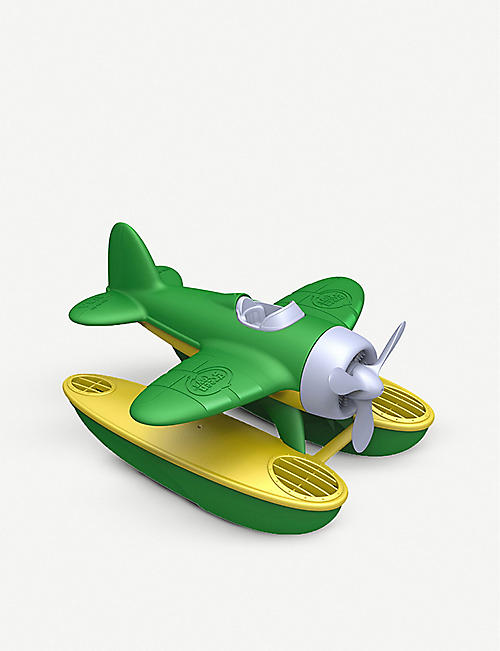GREEN TOYS: Recycled-plastic seaplane toy