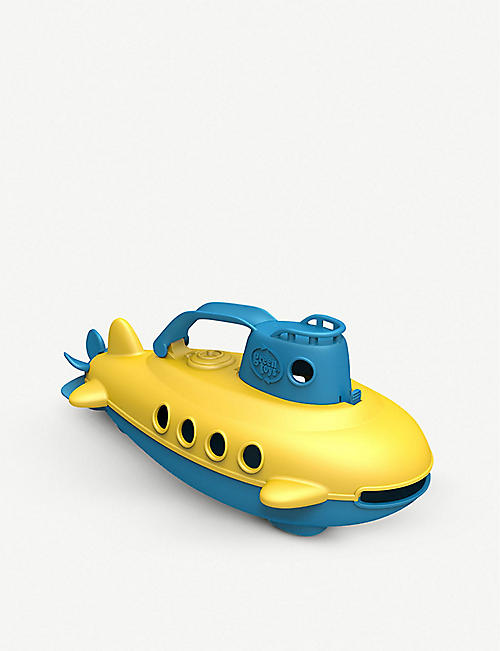GREEN TOYS: Recycled-plastic submarine toy