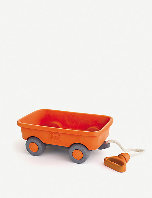 GREEN TOYS: Recycled-plastic toy wagon