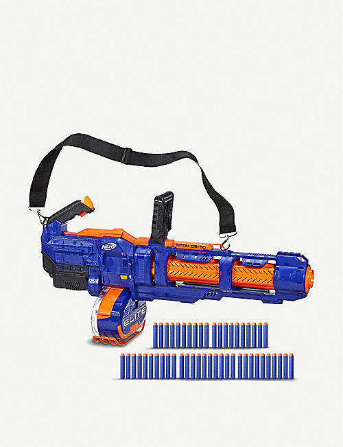 NERF Elite Titan CS-50 toy blaster