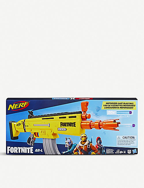 NERF: Fornite AR-L Elite Motorized Blaster toy gun