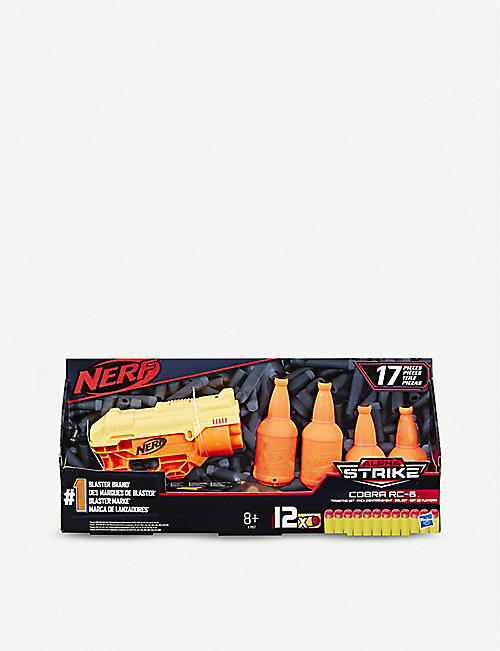 NERF Alpha Strike Cobra RC-6 blaster and target set