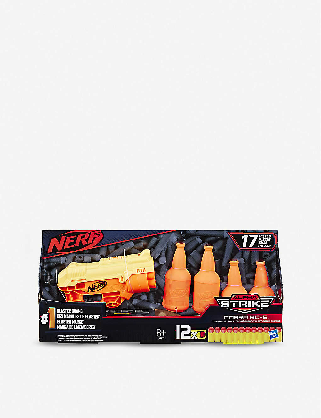 NERF:Alpha Strike Cobra RC-6 爆破器和射击套装