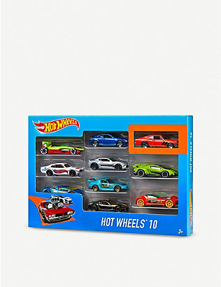 HOTWHEELS: 10 pack model cars