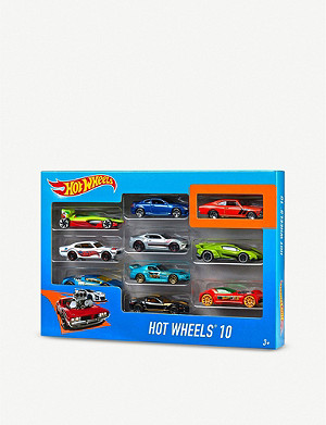 HOTWHEELS 10 pack model cars