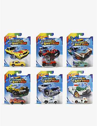 HOTWHEELS: Colour Shifters assorted racing car 1:64