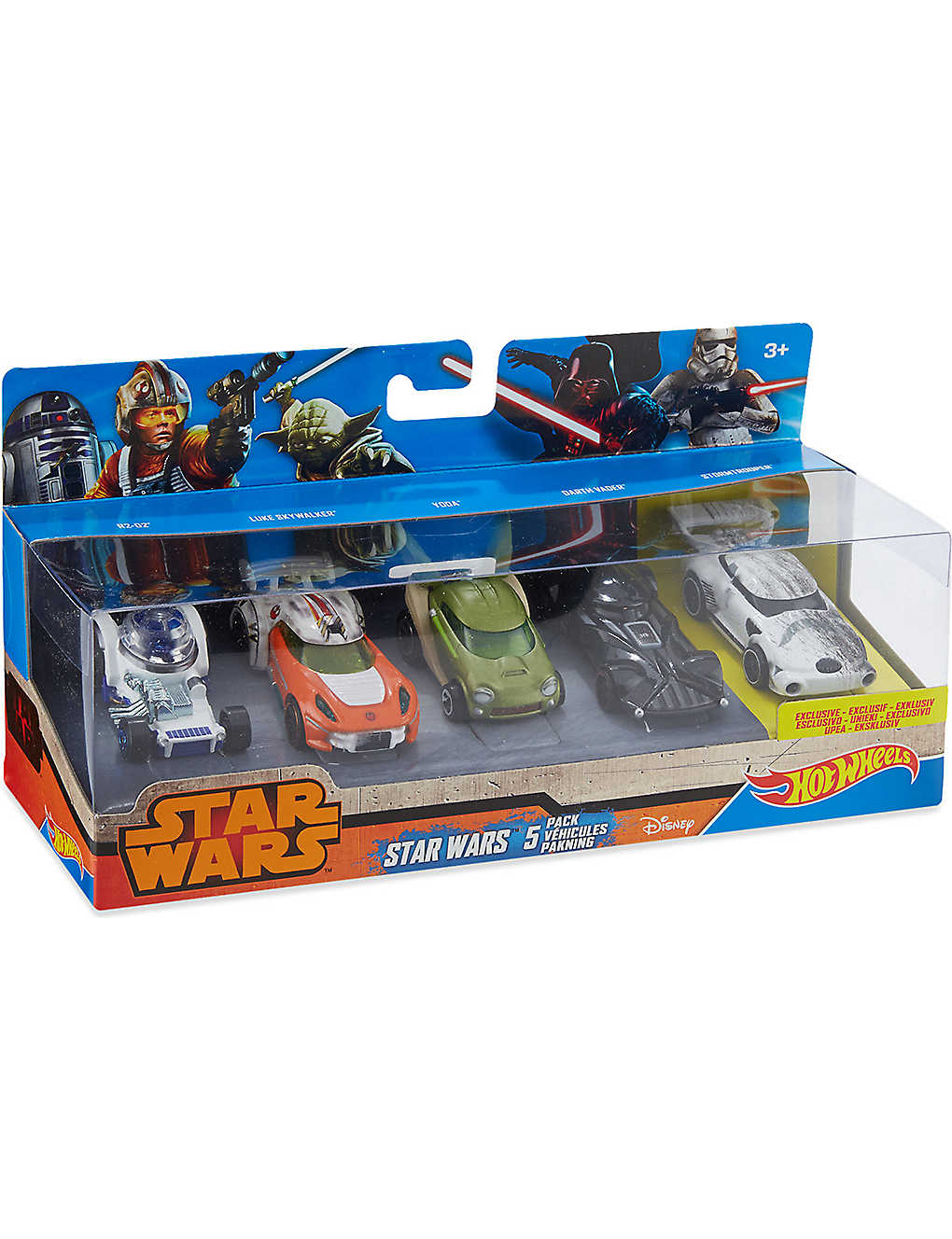 HOT WHEELS: Star Wars vehicles five-pack