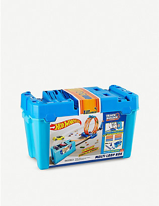 HOTWHEELS: Track Builder Multi Loop box