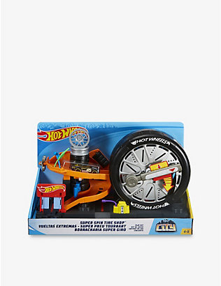 HOTWHEELS: City Super Spin assorted playset